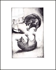Hérisson Croquet Ball lutteAlice in par ParagonVintagePrintsHérisson lutte ✔ Vintage Alice au pays des merveilles, illustration imprimer est de 8 « x 10 » (20 x 35 cm). Peint par l'artiste du XXe siècle Peter Newell, dont la réputation de dessins humoristiques l'a amené à illustrer Mark Twain & pour Harper ' s Bazaar. Cette illustration est un luxe ordinaires des années 1980 célébrant les 150 ans d'Alice dans l'art de Wonderland.  9.99$
