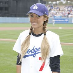Long before she threw the first pitch at a Dodgers Game, Lauren Conrad was just another Cali girl.