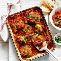 Collect this Slow-Baked Veal Shanks in Tomato Sauce recipe by Ardmona. MYFOODBOOK.COM.AU | MAKE FREE COOKBOOKS