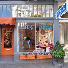 lovely store front