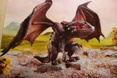 Schleich Dragon - Antylar, World of Fantasy Bayala, Item # 70417 - retired Schleich piece, new in box