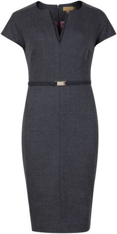 Ted Baker - Flannel Suit Dress