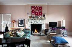 Sitting Room in London 2012 by Adam Bray - I just love this room