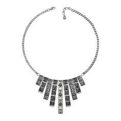 Stud bib necklace by Lola & Grace