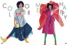 あなたは何色派春のおしゃれは色がなくちゃはじまらないピンクやイエローブルーグリーンなど色同士を大胆にコーディネイトした超POPなカラフルルックに挑戦しようエルジャポン4月号のファッションストーリーでハッピーなスタイリング術をチェックして #エル4月号 #ellejapan #elleonline #fashion  via ELLE JAPAN MAGAZINE OFFICIAL INSTAGRAM - Fashion Campaigns  Haute Couture  Advertising  Editorial Photography  Magazine Cover Designs  Supermodels  Runway Models