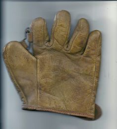 c. 1930's Vintage child's Glove NATIONAL CHAMPION LITTLE CUBS ~ 7 x 7 Chicago ? #ChicagoCubs