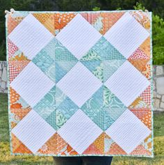 Grand Granny tutorial from Must Love Quilts