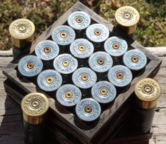Hey, I found this really awesome Etsy listing at https://www.etsy.com/uk/listing/215747500/4-shotgun-shell-coasters-and-holder-with