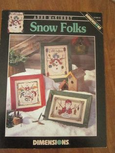 Snow Folks Counted Cross Stitch Patterns
