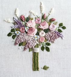 Wonderful Ribbon Embroidery Flowers by Hand Ideas. Enchanting Ribbon Embroidery Flowers by Hand Ideas. Brazilian Embroidery Stitches, Hungarian Embroidery, Hardanger Embroidery, Types Of Embroidery, Rose Embroidery, Learn Embroidery, Hand Embroidery Stitches, Silk Ribbon Embroidery, Hand Embroidery Designs