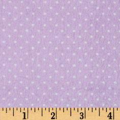 Flannel Basic Pindot Lavender