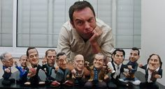 How To Sculpt Handmade Celebrity Caricatures by Mike K. Viner (Feature)