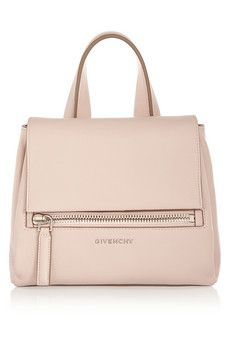 Givenchy Mini Pandora Pure bag in blush textured-leather | NET-A-PORTER