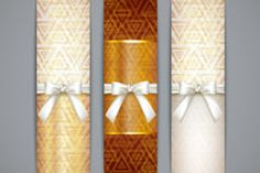 Beautifully designed Ribbon banner vector