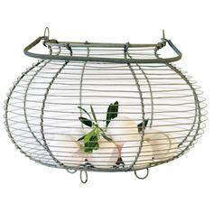 Vegetable Basket Fil De Fer