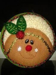 Resultado de imagen para MOGOLLAS DE NAVIDAD PASO A PASO Christmas 2015, Christmas Bulbs, Christmas Decorations, Xmas, Holiday Decor, Coffee Cozy Pattern, Christmas Fabric, Felt Art, Felt Ornaments