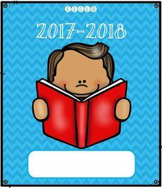 Free binder covers Classroom Labels, Classroom Organization, Back To School Activities, Hands On Activities, Free Teaching Resources, Teaching Tools, First Grade Freebies, Literacy Games, School Memories