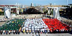 Italy national day celebration at expo Milano 2015 #raiexpo #nationalday #expo2015 #alberodellavita #lakearena