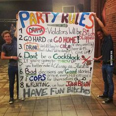 Birthday pictures for adults hilarious party games 30 ideas for 2019 High School Parties, Frat Parties, College Parties, House Party Rules, Fun Party Games, Ideas Party, Drinking Games For Parties, Party Quotes, Birthday Pictures