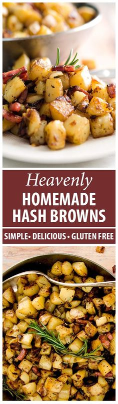These homemade hash browns are golden, crispy and delightfully delicious. Simple, step-by-step instructions for your next breakfast delight!