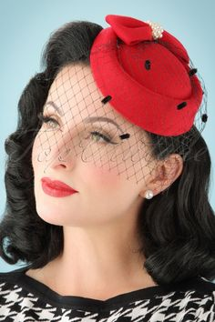 1742a2cc16d Dancing Days by Banned Mailyn Fascinator black 201 10 21121 03062017  model01W