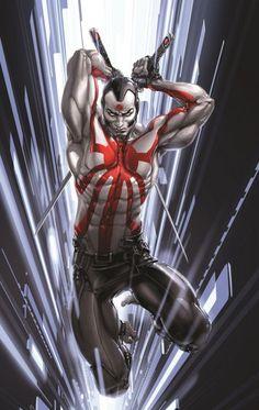 RAI from the Century Japan Valiant Universe (Marvel Legends) Custom Action Figure