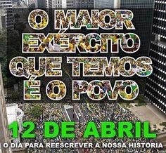 Post  #FALASÉRIO!  : É amanhã, a maior manifestação da historia. Seu co...