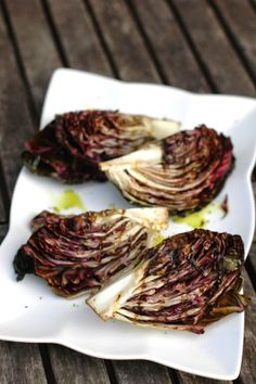 the ONLY way to eat radicchio - via www.easypeasyorganic.com
