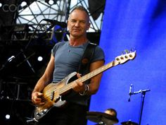 Sting Performs on Day 3 of the NCAA Final Four Big Dance Concert