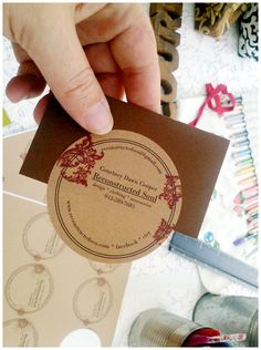 17 best diy business cards images on pinterest business card really cute diy business cards reheart Choice Image