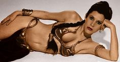 Carrie Fisher... Princess...May The Swartz Be With You