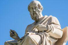 plato statue greek philosophy