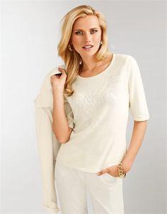 Der Pullover mit Nieten: ein Edelpullover für Ihr elegantes Styling.