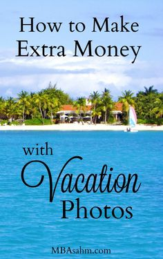 I absolutely love making extra money with my vacation photos and I can't believe everyone doesn't do it! Not only is it fun, but it is super easy.  Click through to find out exactly how to make money with your photos!