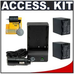 2 Replacement Sony NP-FH100 (NP-FH30, NP-FH40, NP-FH50, NP-FH60, NP-FH70) Batteries and Battery Mini Charger for Sony HandyCam DCR-DVD850, SX40, SX41, SX60, HDR-CX100, TG5, CX500, CX520, XR100, XR200, XR500 & XR520 Camcorders by CTA. $34.50. Kit includes: 1) CTA MR-FP50 Mini Battery Charger for Sony NP-FH100; 2) Spare NP-FH100 Battery; 3) Additional Spare NP-FH100 Battery; 4) Precision Design 5-Piece Cleaning Kit. ♦   CTA MR-FP50 Mini Battery Charger includes: Car Adapter; Eu...