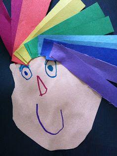 Art Room 104: Roy G. Biv has Rainbow Colored Hair!