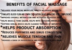 Facial massage is not only to help you relax during your skin treatment but it provides many benefits as well. Call us today to schedule your medical grade facial! Facials start at $95 585-444-EYES #SkinCare #Facials #Massage #EnvisionROC