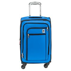 Any type of weekend/carry on sized suitcase on wheels. I want the kind you can just scoot upright (has 4 wheels)