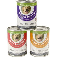Only Natural Canned Dog Food : 99¢ + Free S/H (reg. $2.29)  http://www.mybargainbuddy.com/only-natural-canned-dog-food-99-free-sh