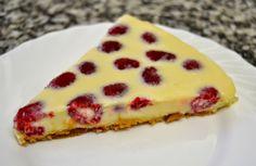 White chocolate and raspberry tart http://platoprohibido.blogspot.com.es/