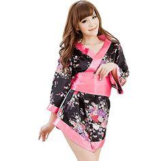 Partiss Damen Blumen Pink Cosplay Kimono Kostuem Lolita Kleid Morgenmantel aus Satin Partiss http://www.amazon.de/dp/B00YBPYJSE/ref=cm_sw_r_pi_dp_EYcAvb10C5M5X