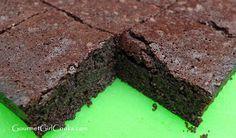 Gourmet Girl Cooks: Bulletproof Fudgy Brownies - Low Carb & No Added Sugar