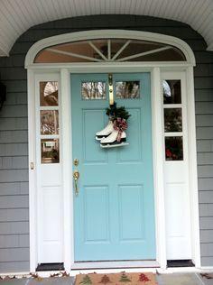 Redo: Front Door {Inspiration} | Blue doors, Doors and Front doors