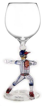 "This would be so cool if it this came in a set of the Angels 2014 MLB Players mainly Josh Hamilton & Mike Trout of course for Jacob, Pujols, Weaves, CJ, & this is ""Howie"" do it!!!  BASEBALL~WINE GLASS"