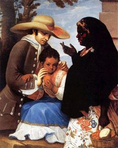 Multiracial (Black and Spanish) family depicted in an 18th century Spanish colonial caste painting | Flickr - Photo Sharing!