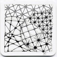 "Tickled To Tangle: ""It's a String Thing"" #44 Tiles"