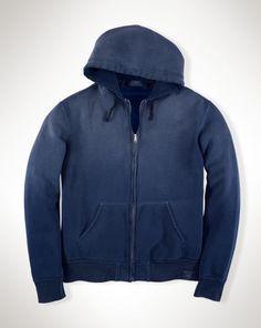 Cotton-Blend Fleece Hoodie - Polo Ralph Lauren Sweatshirts - RalphLauren.com