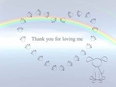 Thank you for loving me....