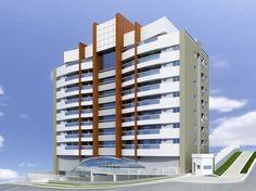 Edifício Saint Martin. Rua Martim Afonso, 2245 - Bigorrilho/Champagnat, Curitiba - Paraná.