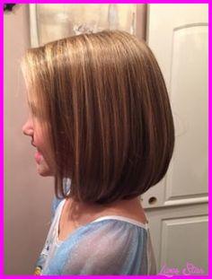 cool Little girl shoulder length bob haircuts